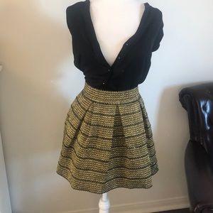 Ginger G Gold Tensile Skirt